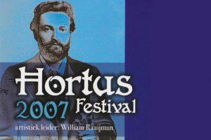20 jul 2007 ~ Hortus Festival, Hortus Botanicus Leiden en Utrecht