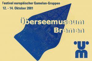 16 okt 2001 ~ Internationaal Gamelan Festival Bremen