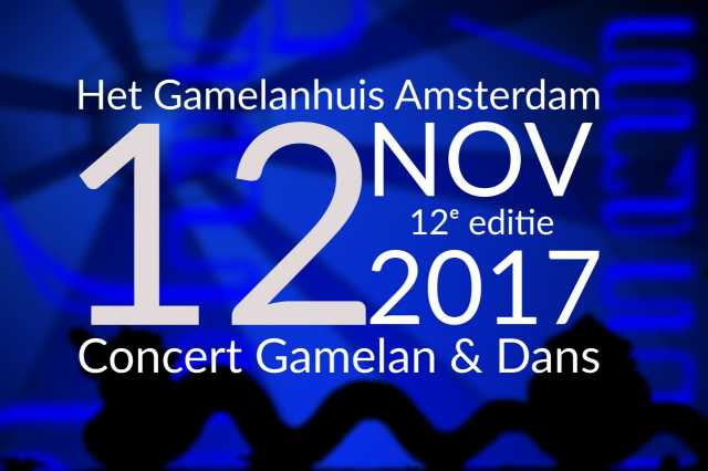 12 nov 2017 ~ 12e Editie Wiludyeng Concert