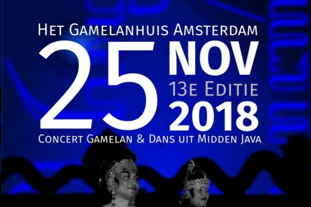 25 nov 2018 ~ 13e Editie Gamelan en Dans