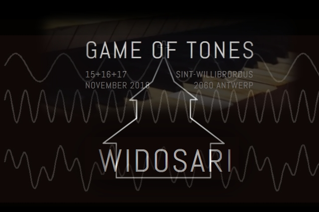 17 Nov 2018 ~ Game Of Tones, Antwerpen