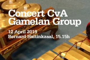 12 April 2019 ~ Javanese Gamelan CVA