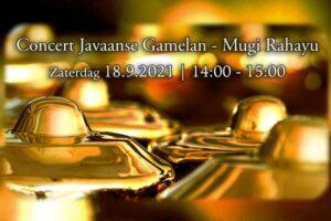 18 September 2021 ~ Gamelan door Mugi Rahayu